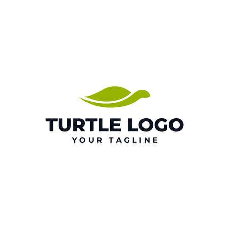 Simple Sea Turtle Logo Design Template