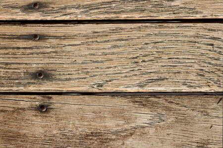 barnwood: Distressed Horizontal Wood Plank Boards  Stock Photo