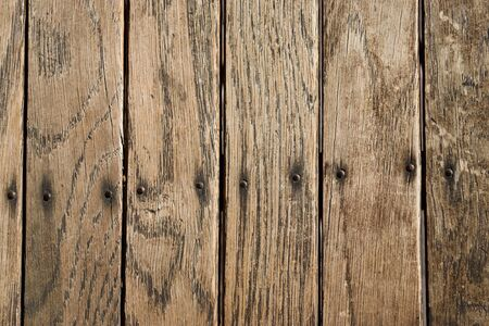 Distressed Vertical Wood Plank Boards Background