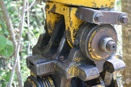 snubber: Logging Skidder Grapple Detail