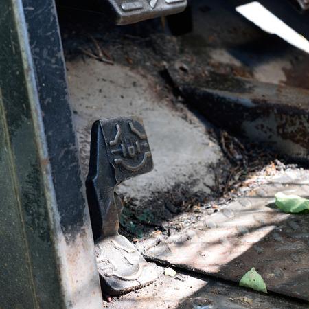 farm duties: Heavy Equipment Foot Control Detail