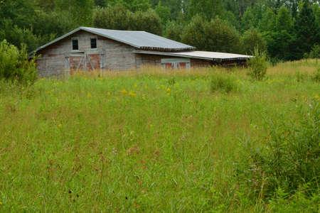 farm building: Old Abandoned Farm Building