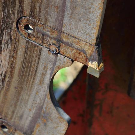 cutoff: Closeup of Log Cutoff Saw Tooth