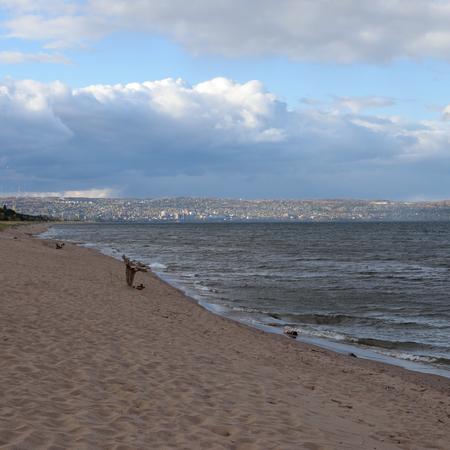 superior: Duluth Skyline and Lake Superior Shoreline