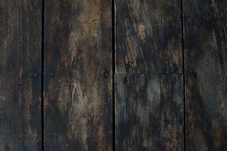 barnwood: Worn Vertical Wood Floor