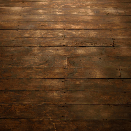 worn: View of Worn Wood Floor Stock Photo