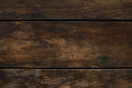 barnwood: Closeup of Distressed Horizontal Wood Floor