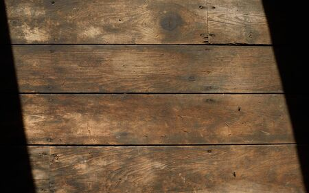 barnwood: Dirty Horizontal Wooden Floor