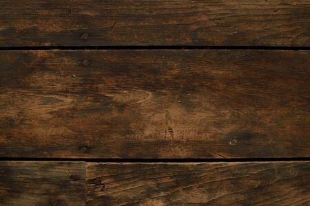 barnwood: Closeup of Worn Horizontal Wood Floor