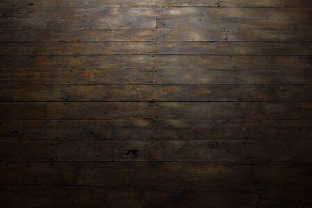 barnwood: Worn Wood Plank Flooring Stock Photo