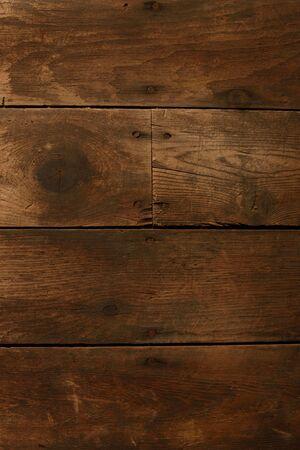 wood flooring: Scuffed Horizontal Wood Flooring Stock Photo