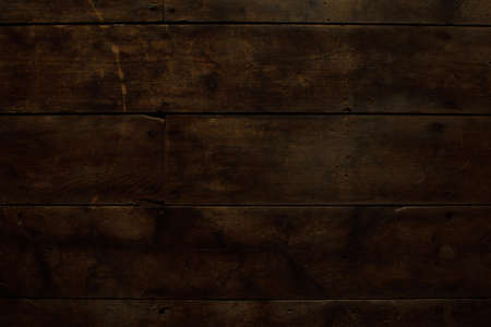 barnwood: Damaged and Worn Horizontal Wood Floor Stock Photo