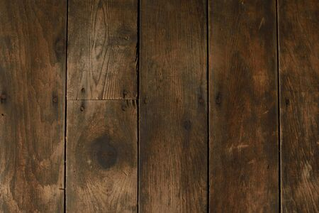 barnwood: Damaged and Worn Vertical Wood Floor
