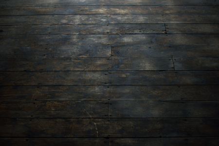barnwood: View of Damaged Wood Flooring Stock Photo