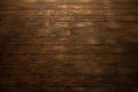 barnwood: View of Worn Wood Flooring