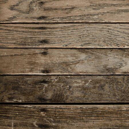 Closeup of Distressed Wood Boards 写真素材