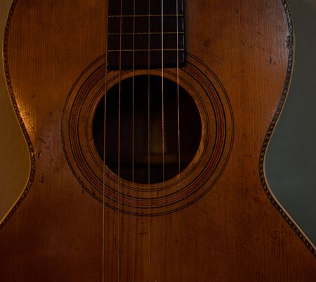 20th century: Parlor Guitar from Early 20th Century