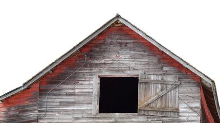 rickety: Rickety Abandoned Barn Stock Photo