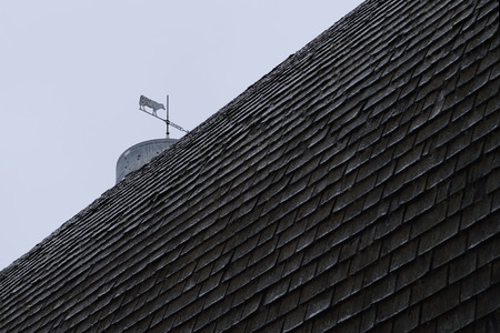fixer upper: Cupola and Weathervane on Old Barn