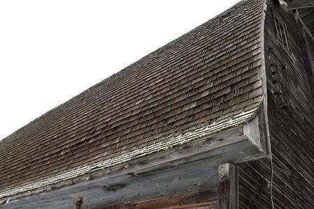 fixer upper: Cedar Shake Roof on Old Barn