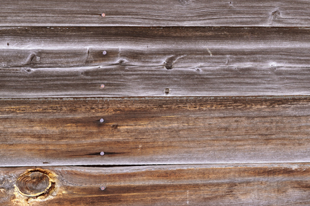 Knotty and Worn Barnwood