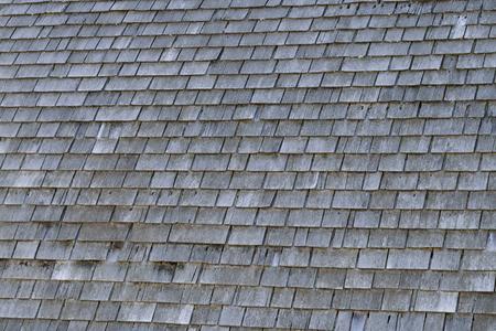 cedar shakes: Old Cedar Shake Barn Roof