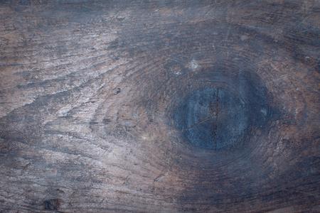 barnwood: Knot in Barnwood Floor Stock Photo