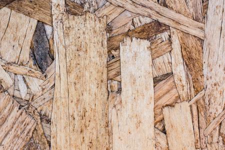 Closeup of Engineered Wood Panel