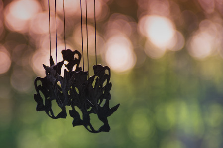 Hummingbird Windchime in Summer