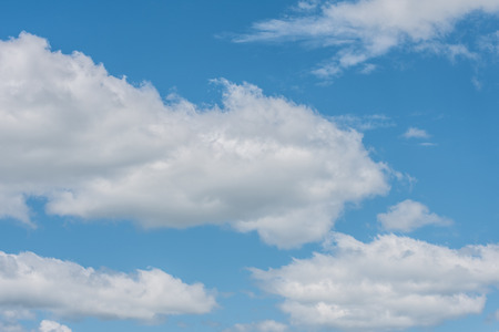 Blue Sky with Multiple White Clouds Stock Photo - 84784331
