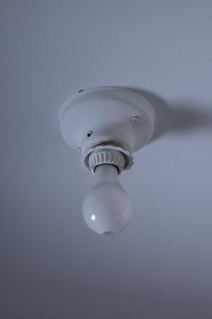 Vintage Light Fixture on Ceiling