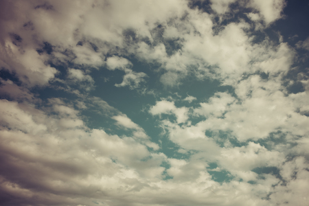 Vintage Clouds Stock Photo - 102634730