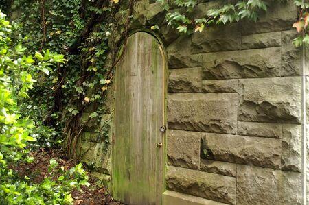 clandestine: Secret garden Stock Photo