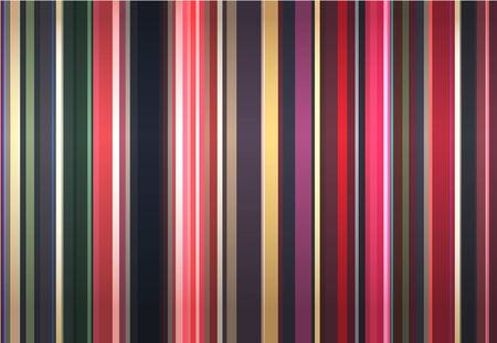 ornaments vector: Elegante sfondo da strisce di colore.