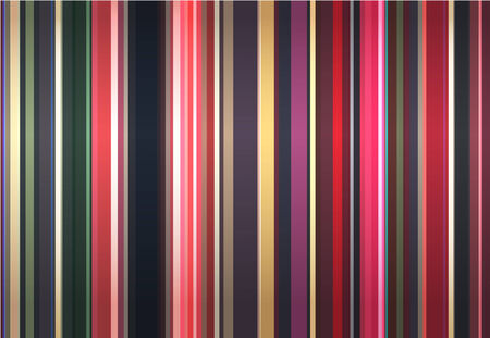 vector decoration: Stylish background from color strips.