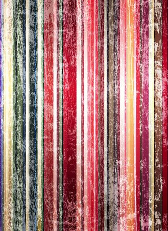 Stylish grungy background from color painted strips Stock Photo - 5067778