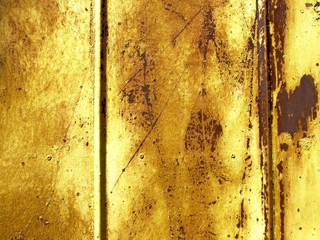 Rusty, stained and scratched surface wall Stock Photo - 5120786