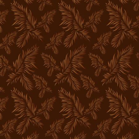 Beautiful vector wallpaper. File contains original seamless Vector