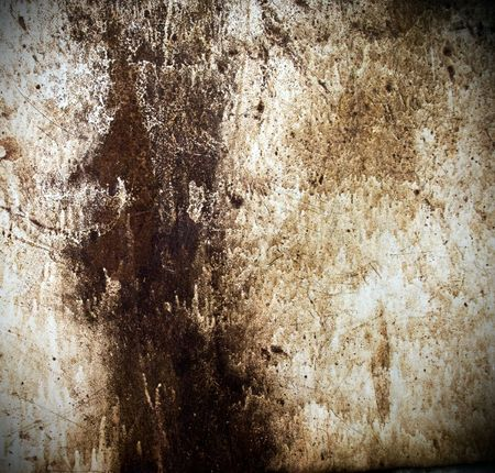Grunge background from rusty metal sheet Stock Photo - 5200463