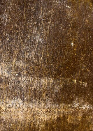 Grungy background from rusty scratched surface metal photo