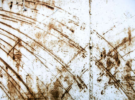 Heavy industrial background from rusty and scratched surface metal Stock Photo - 5200462