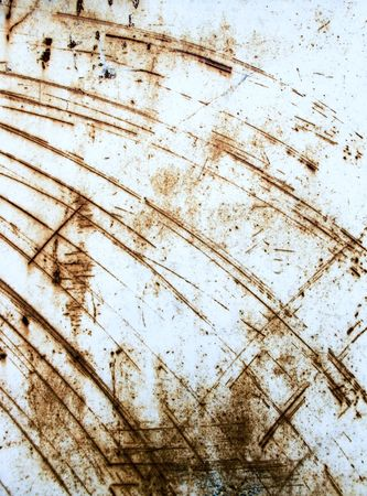 Heavy industrial background from rusty and scratched surface metal Stock Photo - 5219498