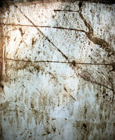 Grunge background from rusty metal sheet Stock Photo - 5219496
