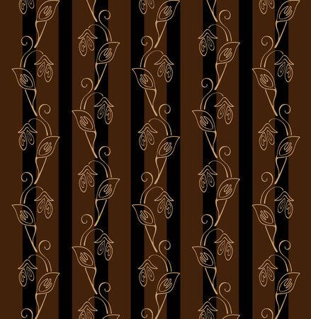 Original vector wallpaper. File contains original seamless Stock Vector - 5219509