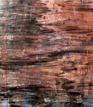 Painted and scratched rusty surface metal Stock Photo - 5219514