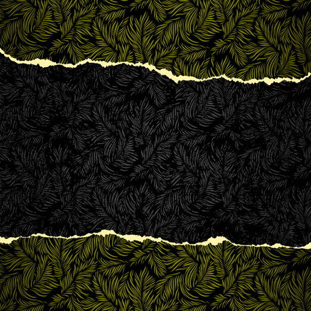 Luxury wallpaper original seamless torn edges Vector
