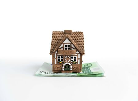 sold small: Small house on denominations hundred euros