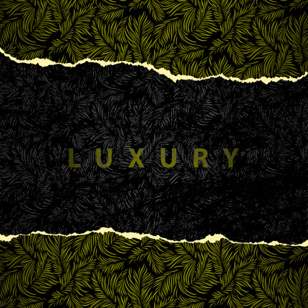 Luxury wallpaper original seamless torn edges Stock Vector - 5319575