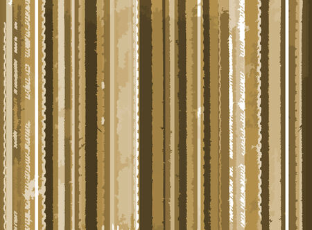 Stylish vintage background from brown strips Vector