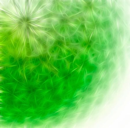 Abstract background - closeup dandelion. Computer generated this image photo